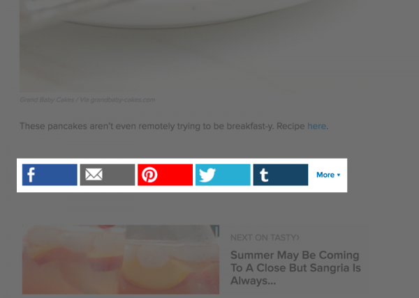 Social Sharing Buttons, good or bad